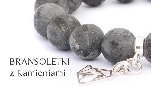 Bransoletki z kamieniami