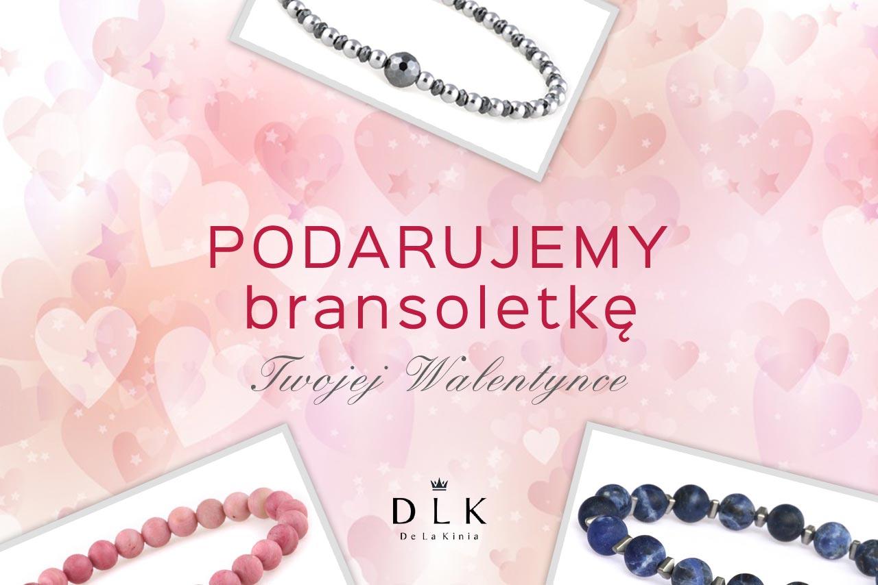Bransoletki na Walentynki od DeLaKinia