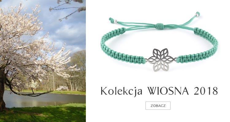 Bransoletki ze sznurka DeLaKinia Kolekcja wiosna 2018