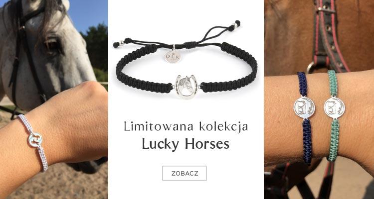 Bransoletki DeLaKinia kolekcja Lucky Horses