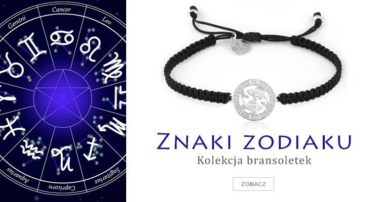 Bransoletki znaki zodiaku