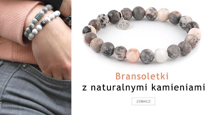 Bransoletki z naturalnymi kamieniami
